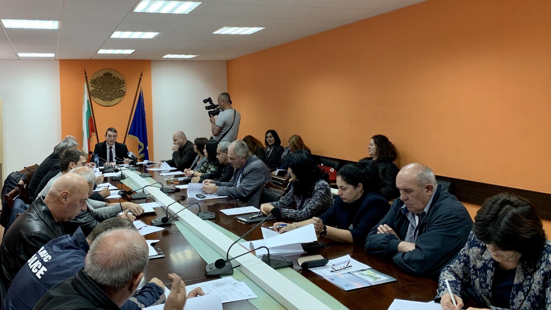 Заседание на Областна комисия по безопасност на движението по пътищата