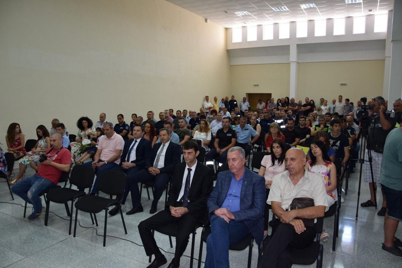 Заместник областният управител Анжело Методиев присъства на  тържественото събрание по повод професионалния празник на МВР