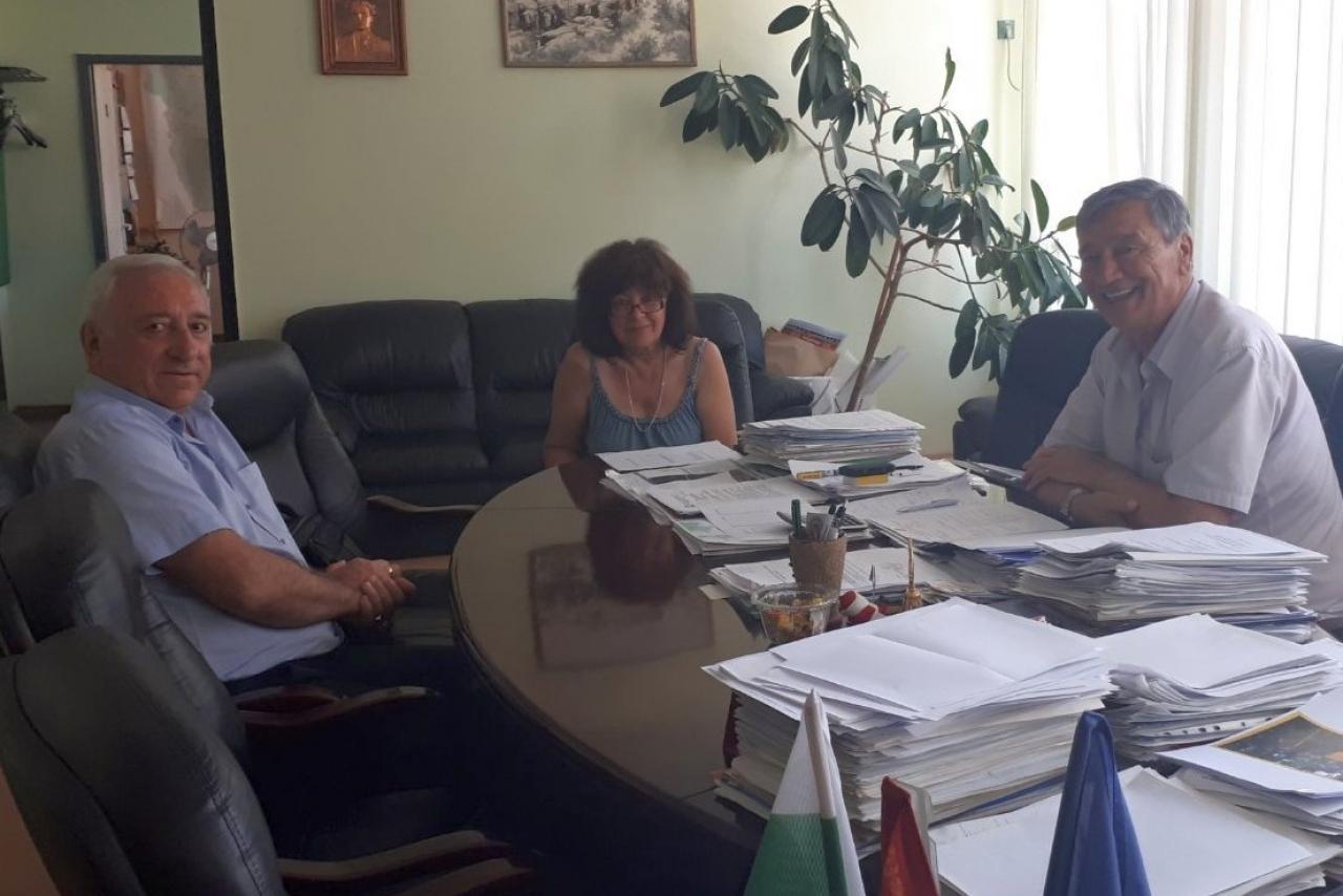 Oбластният управител Огнян Асенов се срещна с кмета на Белоградчик  във връзка с предстоящите избори за народни представители