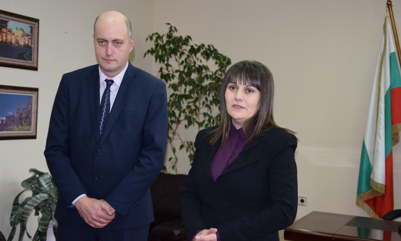 Момчил Станков официално встъпи в длъжност като областен управител на област Видин